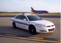 Airport Police Car