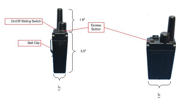 Long Range RF Personnel Tracker